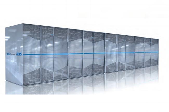 Avec ses batteries de lames Intel Xeon ou Phi KL, l'Atos BullSequana X1000 peut atteindre une puissance de 12 petaflops. (Cr�dit Atos)