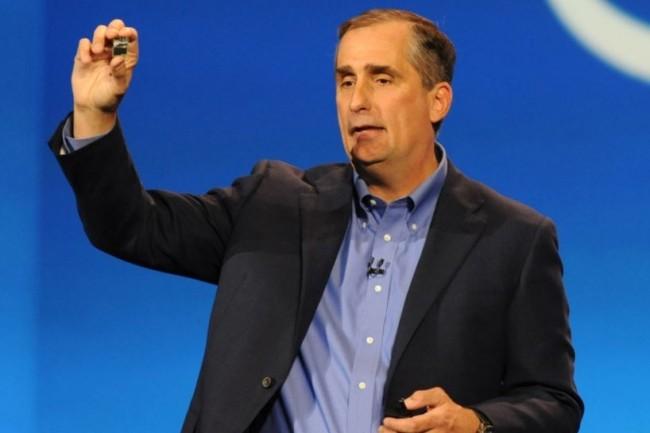 Brian Krzanich, CEO d'Intel, martèle que les vulnérabilités Spectre et Meltdown n'auraient pas d'impact sur les futures ventes. (crédit : Creative Commons)