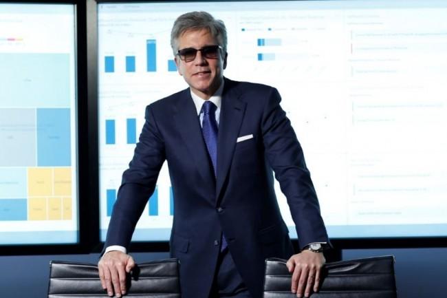Le rachat de CallidusCloud, spécialisé dans les outils de gestion des forces de vente, s'inscrit dans la stratégie de transformation du front office de SAP, selon Bill McDermott, CEO de l'éditeur allemand. (Crédit : SAP)