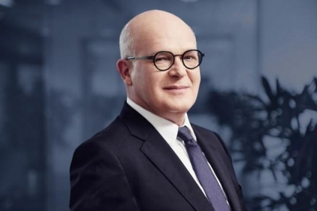 Séverin Cabannes, directeur général délégué de la Société Générale, a présenté à la presse la stratégie numérique du groupe bancaire. (crédit : D.R.)