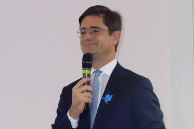 « L'économie va très bien », s'est félicité ce matin Nicolas Dufourcq, directeur général de Bpifrance, en détaillant l'activité de la banque publique sur l'année écoulée. (Crédit : LMI/MG)