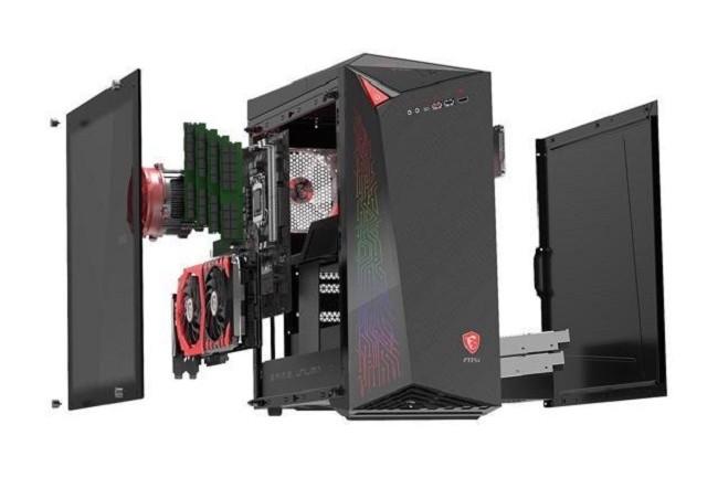 Lancé en novembre 2017, l'Infinite X de MSI fait partie des PC de jeux toujours plus nombreux sur le marché. Crédit photo : D.R.