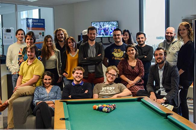 Composé d'une équipe de 18 personnes, Citymeo compte accueillir 40 salariés d'ici la fin de l'année 2018. (Crédit : Citymeo)
