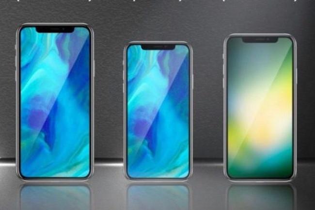 Les iPhone 9 seront équipés de puces modem LTE Intel, si Apple ne trouve pas d'arrangement avec Qualcomm. (Crédit D.R.)