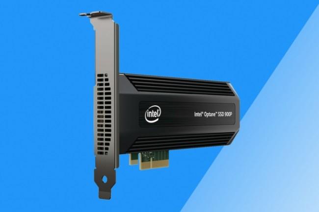 La 900P d'Intel utilise une interface PCi Express pour des performances accrues.