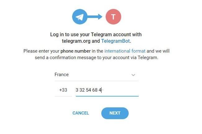 Avec Login for Websites, Telegram permet aux éditeurs de sites web et e-commerce de sécuriser leurs relations via chatbot avec les utilisateurs de sa messagerie chiffrée. (crédit : Telegram)