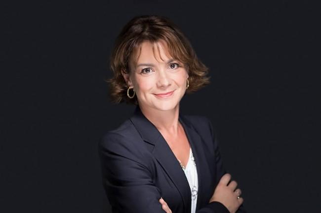 Mari-Noëlle Jégo-Laveissière, directrice innovation chez Orange, a annoncé ce matin des expérimentations 5G en Europe. (Crédit Orange)