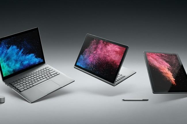Les efforts de Microsoft et d'Apple limitent les dégâts sur le marché des tablettes. (Crédit Microsoft)