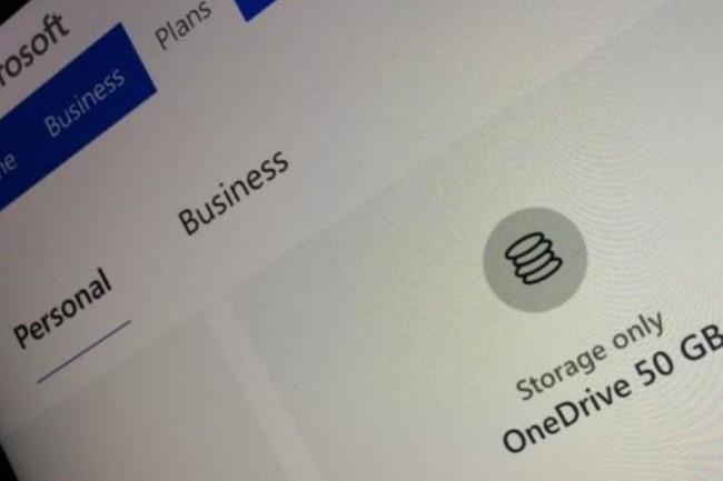 Microsoft  propose aux utilisateurs de services cloud concurrents de migrer vers la version professionnelle de OneDrive . Crédit. D.R.