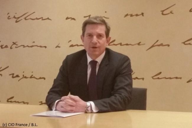 Louis Gautier, secrétaire général de la défense et de la sécurité nationale, a présenté à la presse la Revue Stratégique de Cyberdéfense.