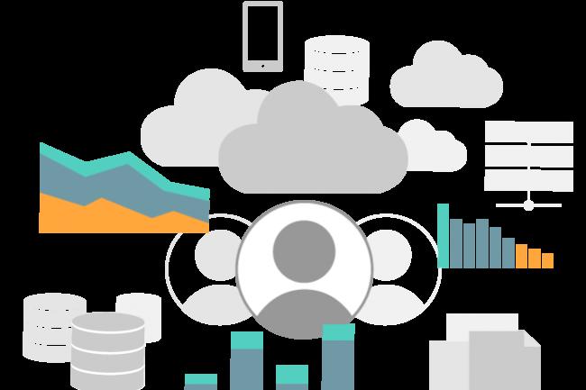 En 2019, les dépenses en logiciels et services IT dépasseront chacune la valeur des budgets consacrés aux achats de matériels dans les PME. (Crédit D.R.)