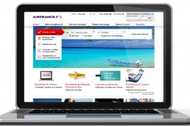 L'URL utilisée par les pirates de l'attaque par phishing ciblant Air France renvoie comme toujours vers un site web malveillant. (crédit : D.R.)