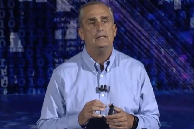 L'affaire des vulnérabilités Meltdown et Spectre vont empoisonner les affaires d'Intel et de son CEO Brian Krzanich pendant encore de longs mois. (crédit : D.R.)