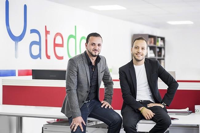 Les deux fondateurs de Yatedo, Amyne Berrada (à gauche) et Saad Zniber (à droite) ont investi plus de 6 M€ en R&D depuis la création de la start-up en 2011. (Crédit : Yatedo)