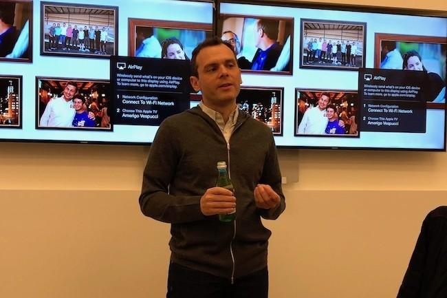 Olivier Pomel a fait le déplacement de New Yok à San Francisco pour nous rencontrer chez son investisseur Index Ventures. (Crédit S.L)