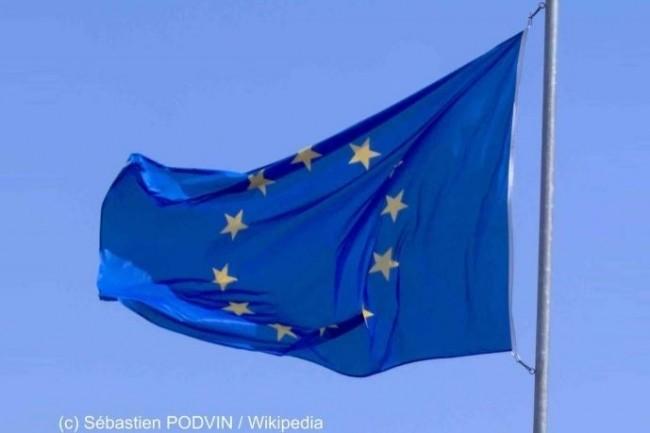 La directive européenne 2016/1148 Network Information Security vient d'être transposée en droit français. (Crédit : Sébastien Podvin/Wikipedia)