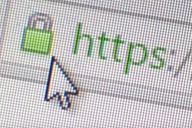 Un site web sécurisé par un certificat SSL est visible par le cadenas vert présent à gauche de l'URL et une adresse httpS. (Crédit : D.R.)