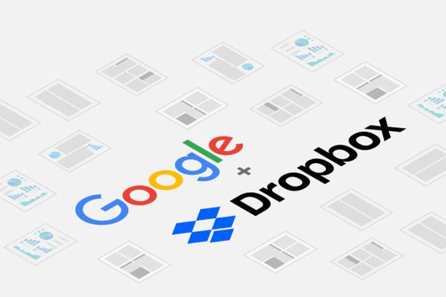 Google et Dropbox associent leurs fonctionnalités autour de la G Suite et de Gmail pour que les utilisateurs « puissent facilement travailler sur les appareils de leur choix », déclare Tony Lee, vice-président de l'ingénierie chez Dropbox. (Crédit : D.R.)
