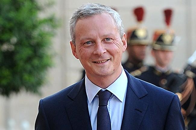 Bruno Le Maire, ministre de l'Economie et des Finances « préfère un texte applicable très vite plutôt que des négociations interminables. On l'améliorera par la suite. » (Crédit : Gouvernement)