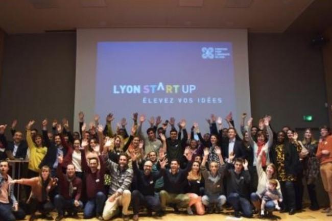 Le 23 février dernier, 100 projets jugés les plus prometteurs ont été sélectionnés pour intégrer le programme Lyon Start-up. Crédit. D.R.