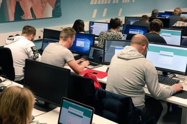 Webforce3 forme des développeurs en accéléré via un réseau de 25 centres de formation. Crédit. D.R.