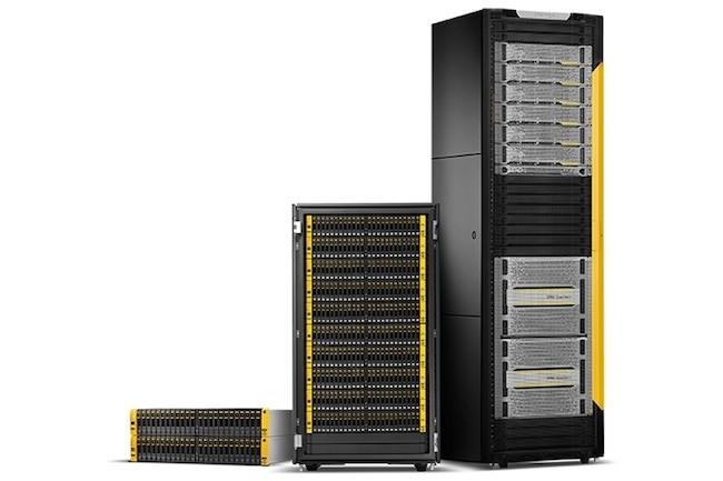 Pour la première fois HPE passe devant Dell EMC sur le marché du stockage au 4ème trimestre 2017. (Crédit HPE)