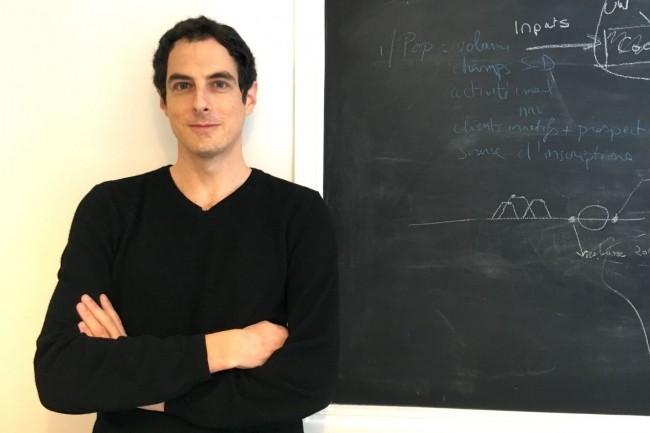 Chercheur en algèbre et géométrie à l'Université de Yale ou au CNRS, David Bessis a créé Tinyclues en 2010 pour détecter les « minuscules indices » révélant des intentions d'achat non formulées. (Crédit : D.R.)