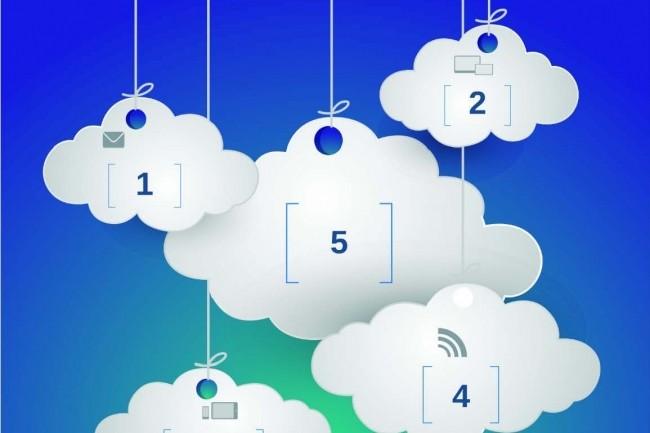 75% des entreprises ont recours à plusieurs services de cloud. (Crédit D.R.)