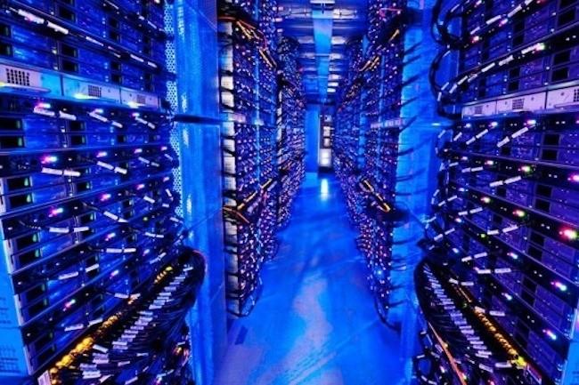 Les géants de la technologie ont dépensé près de 75 milliards de dollars l'an dernier pour des infrastructures à très grande échelle. (Crédit D.R.)