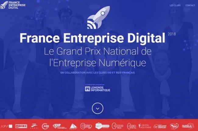 La 4e édition de France Entreprise Digital, Le Grand Prix National de l'Entreprise Numérique est lancé. (crédit : IT News Info)