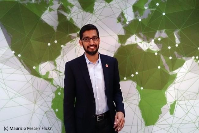 Sundar Pichai, CEO de Google, a souligné l'importance de la formation dans une récente tribune.