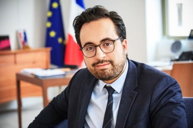Le secrétaire d'Etat chargé du Numérique, Mounir Mahjoubi, a répondu aux questions du Monde Informatique. (crédit : Alexia Perchant)