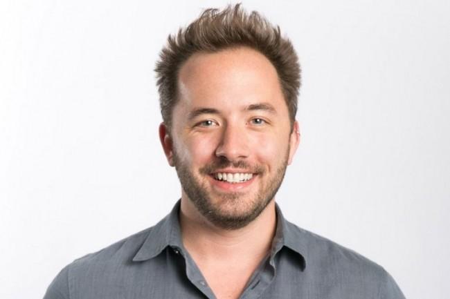 Andrew Houston, CEO de Dropbox, a co-fondé la société en 2007 avec Arash Ferdowsi et lancé le service de stockage et partage de fichiers en 2008. (crédit : D.R.)