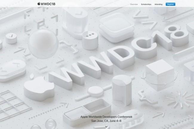Le prix d'entrée sur la WWDC 2018 est fixé à 1 599 $ pour ceux qui pourront y participer. (crédit : Apple)