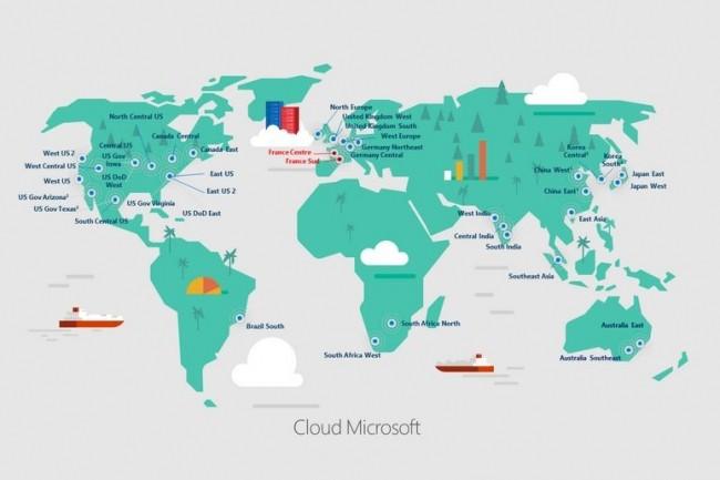 Microsoft ouvre 4 datacenters en France — Cloud