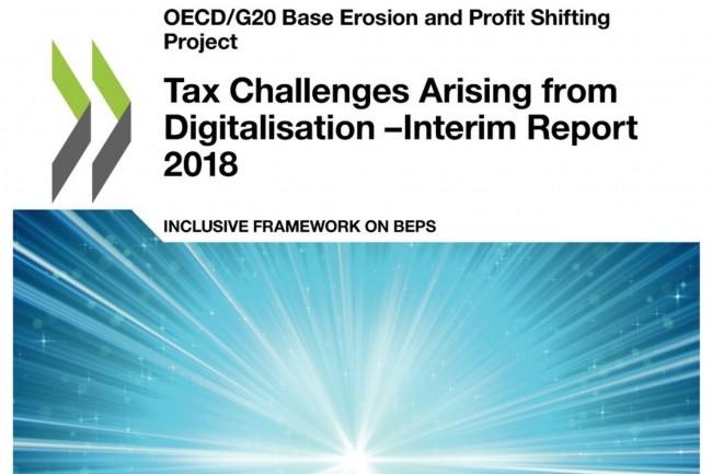 Le rapport de l'OCDE sur les défis posés par la fiscalité du numérique met en évidence la complexité des problèmes dans la recherche d'un accord international.