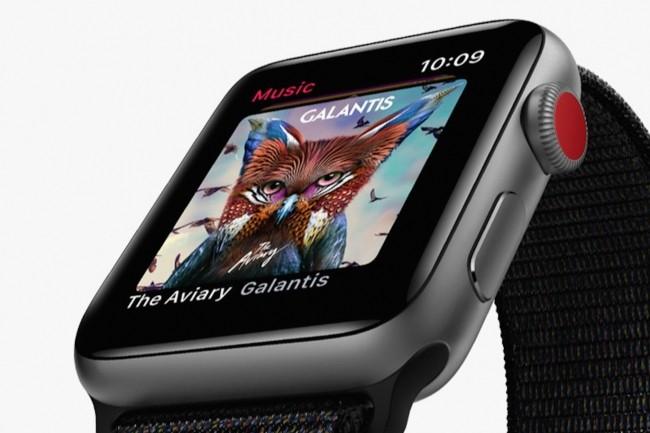 L'Apple Watch sera le premier produit d'Apple à bénéficier d'un écran micro-LED dans 3 à 5 ans. (Crédit : Apple)