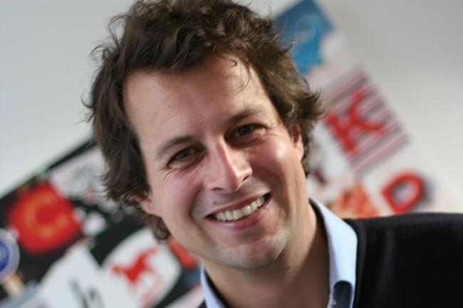 Cyril Texier (photo) a cofondé Do You Dream Up avec Mathieu Changeat et Jérôme Vérité en 2009. L'entreprise a réalisé 3,8M€ de chiffres d'affaires en 2017. (Crédit : DYDU)
