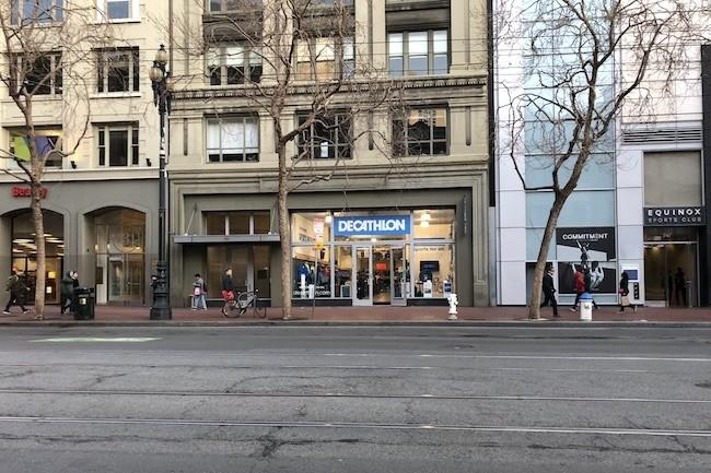 Une jeune start-up française récemment installée à San Francisco sur Market. (Crédit S.L.)