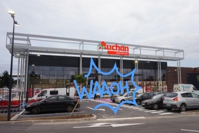 Le programme de fidélité Waaoh du distributeur Auchan intègre désormais de l'apprentissage machine et de la gamification. (crédit : D.R.)