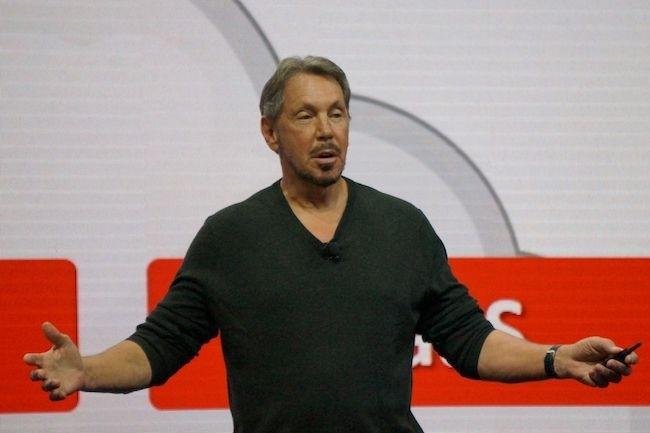 CTO et cofondateur d'Oracle, Larry Ellison s'est rallié sur le tard au cloud. (Crédit
