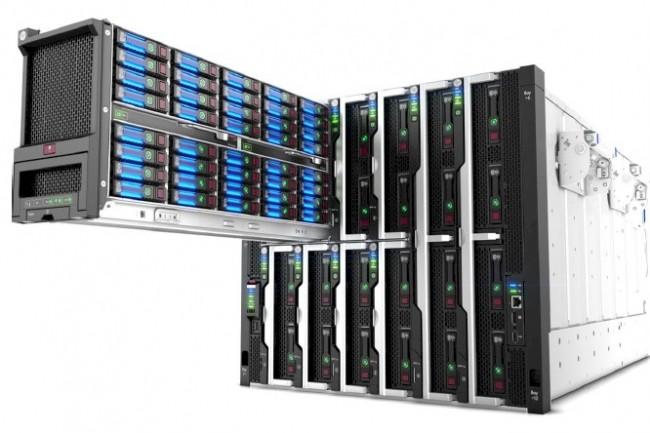La plate-forme composable Synergy de HPE est disponible depuis un peu plu sd'un an. (Crédit HPE)
