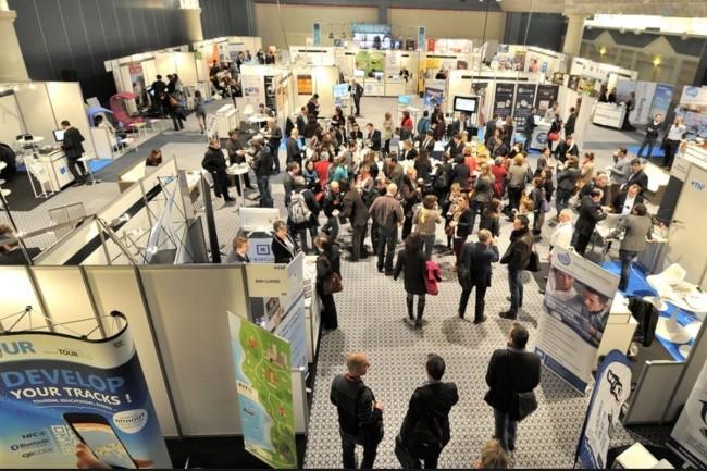 Le tout premier salon In Normandy attend  4000  visiteurs et 250 entreprises du numérique au Centre international de Deauville. Crédit photo MLG Event.