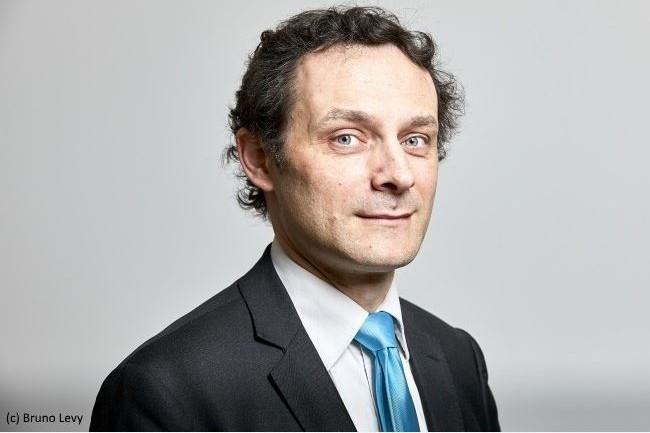Gianmaria Perancin, président de l'USF et du réseau Sugen, émet certaines réserves sur le nouveau modèle de tarification des accès indirects aux logiciels SAP. (Crédit : Bruno Levy.)