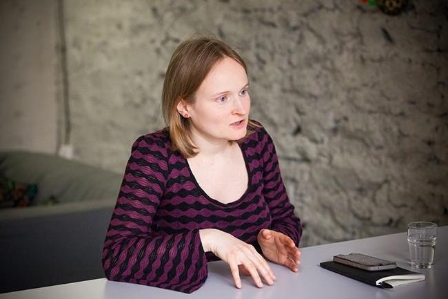 Anna Stépanoff a fondé la Wild Code School en 2013. Elle la dirige depuis l'ouverture du premier campus en septembre 2014. (Crédit : Alexia Perchant pour LMI)
