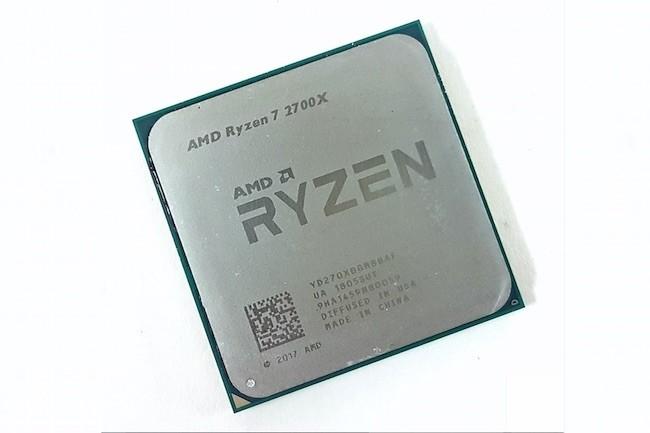 Les processeurs Ryzen de 2ème génération d'AMD sont plus rapides, moins chers et tous équipés de ventilateurs Wraith. (Crédit AMD)