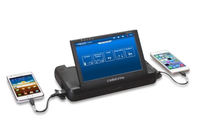 L'entreprise Cellebrite ne se contente pas de déverrouiller les iPhone, elle travaille aussi sur les terminaux Android. (Crédit D.R.)