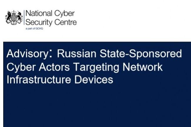 Le 16 avril, le NCSC britannique, le FBI et le DHS ont publi� une alerte sur une campagne de cyberespionnage soutenue par la Russie. (Cr�dit : NCSC)
