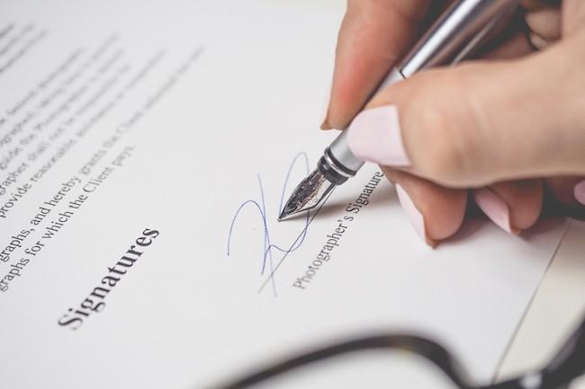 En 2016, DocuSign détenait 40 % du marché de la signature électronique. (Crédit Pexel)