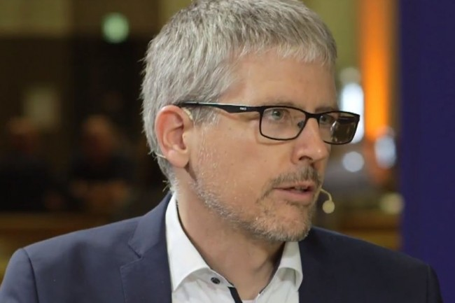 Andreas Kohlmaier, responsable Data engineering de Munich Re, a piloté le lancement de la plateforme datalake d'Hortonworks au sein du réassureur. (crédit : D.R.)